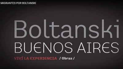 Migrantes: Boltanski en Buenos Aires